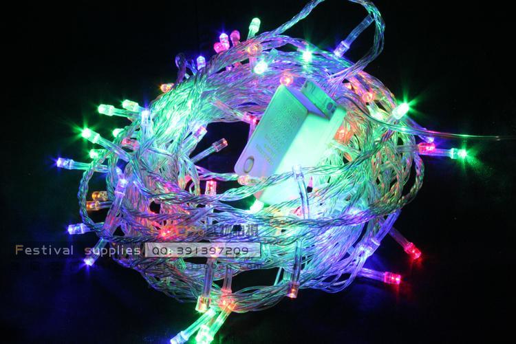 Christmas lights 30 meters led lights flasher lamp set decoration lantern wedding supplies decoration lamp dangxiang small