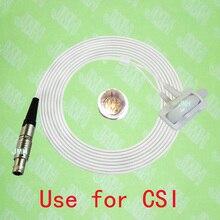 Совместимость с CSI Пульсоксиметр монитор, новорожденного силиконовой пленкой SpO2 датчик, 5pin lemo мужской подключения, 1B.