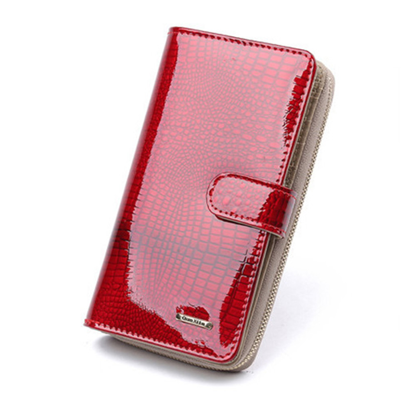 Brand Womens Wallets and Purses Female Long European and American Style Genuine Leather Wallet Coin Purse Ladies Designer Wallet цена и фото