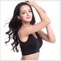 Brazil Free Shipping woman solid active bra Woman cotton high breathable  Seamless bra Promotional discount woman underwear