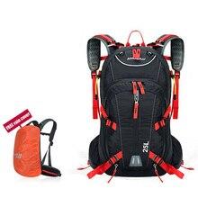 2017 Új érkezés ANMEILU márka 25L vízálló kemping túrázás kerékpározás hátizsák Kültéri Sport hátizsák sisakkal Net Cover