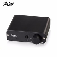 SABAJ D2 Portable Audio DAC With Headphone Amplifier With 3 5mm Headphone Jack Output Optical Coaxial