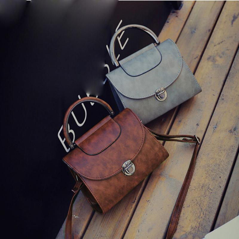 Molave Shoulder Bag new high quality Leather Fashion Candy Messenger Female Handbag Flap Bag shoulder bag women MAR8 ...
