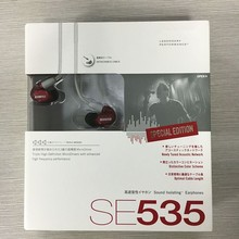 SE535 earphone With mic Hifi In-Ear Dynamic Bass noise canceling earphone 3.5MM Stereo In Ear Earphone with retail box VS SE215