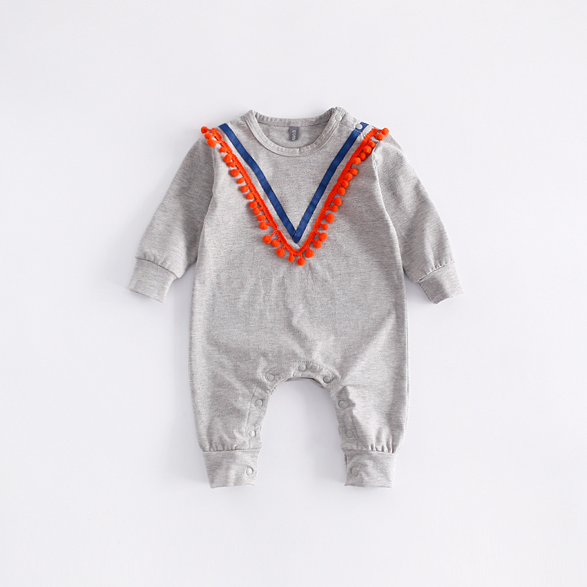 2018 New Autumn Baby Clothes Toddlor Infant Navy Baby Rompers One-pieces Long Sleeve Jumpsuits Newborn Boys Girls Rompers Roupas 0 3y baby boys girls infants clothes long sleeve rompers outfits newborn infant kids winter clothing jumpsuits baby outwear