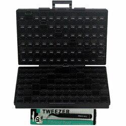 AideTek ESD الآمن SMD تخزين IC مربع صناديق مكافحة احصائيات SMT المنظم الترانزستور الالكترونيات تخزين حالات و المنظمون BOXALLAS