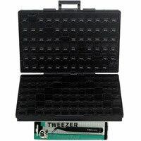 ESD Safe SMD IC Box W 144 Bins Anti Statics SMD SMT Organizer Transistor Diode