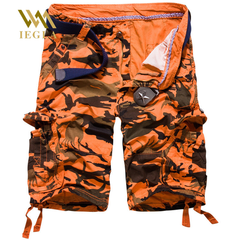 New Cargo Shorts Men Summer Military Casual Short Homme Male Cotton Joggers Fashion Brand Clothing Military Uniform Shorts