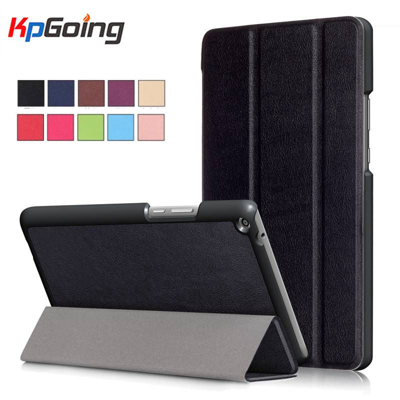 PU Leather 3 Fold Folio Stand Cover Case for Huawei MediaPad T3 8.0 KOB-L09 KOB-W09 for 8'' Tablet PC for Honor Play Pad 2 8.0 folio slim cover case for huawei mediapad t3 7 0 bg2 w09 tablet for honor play pad 2 7 0 protective cover skin free gift