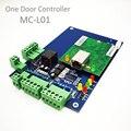 Высокое качество TCP/IP RFID система контроля доступа дверь панель доступа LAN интерфейс ворота контроллер доступа для одной двери L01