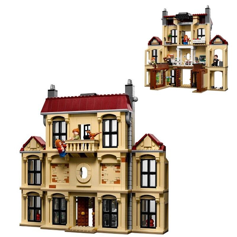 10928 Jurassic World Dinosaur Buildling blocks Lockwood Estate fingure Bricks Compatible 75930 Toys For Children Gift in Blocks from Toys Hobbies