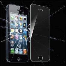 882d167b3ed Ultra delgada Protector de pantalla de vidrio templado para el iphone 4 s iphone  4 caso Original capa fundas para Apple iphone 4.