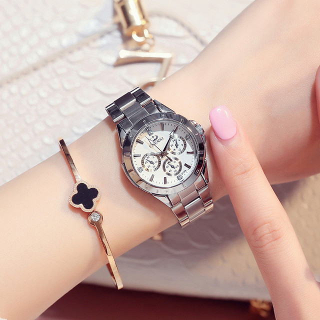 CHENXI Fashion Women's Bracelet Watches Stainless Steel Waterproof Dress Quartz