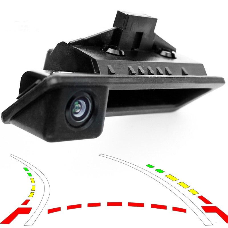 Reversing Rear View Car Camera Trunk Handle Trajectory Camera for BMW E60 E61 E70 E71 E72 E82 E88 E84 E90 E91 E92 E93 X1 X5 X6