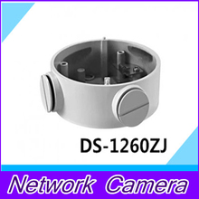 CCTV camera bracket DS-1260ZJ One- cylinder machine junction box / Continental white paint for DS-2CD2632F-IS or DS-2CD2232-I5