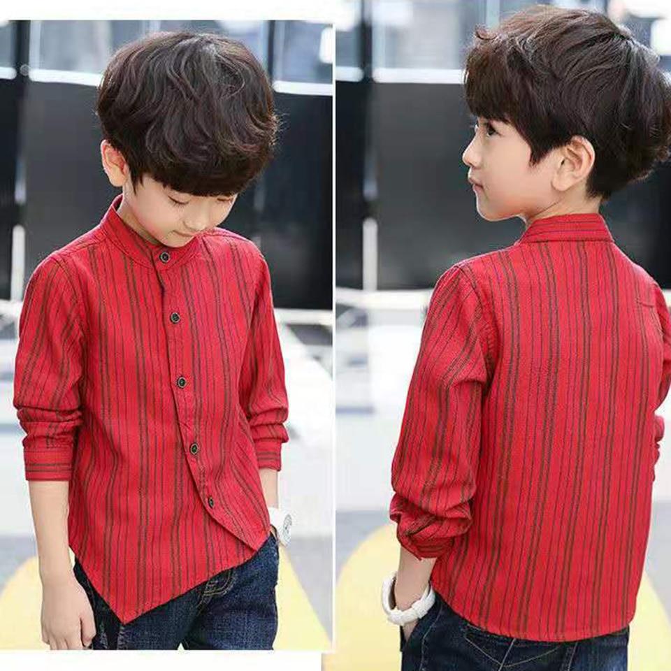Children Boys Casual-Fashion Shirts