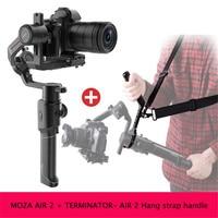 Moza Air 2 3 Axis Handheld Gimbal Maxload 4.2KG DSLR Camera Stabilizer for Sony Canon Nikon 5D 6D Mark PK DJI Ronin S Crane 2