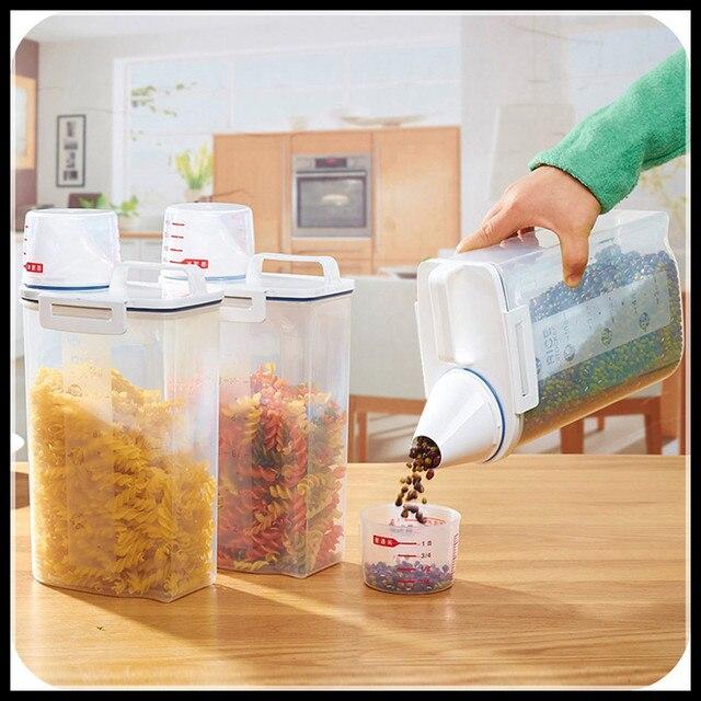 aliexpress.com : elimelim küche speicherorganisator 2kgs korn ... - Vorratsbehälter Küche