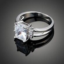 Moda Natural de blanco, zafiro, negro, rosa, circón de alta calidad de plata pareja, anillos mujer, señor de los anillos, anillo de bodas