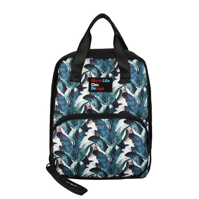 doranmi fashion printed backpacks large capacity oxford traveling