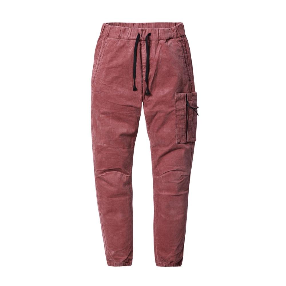 Image 5 - SIMWOOD Brand Casual Men Cargo Pants 2020 Winter Long Thick  Corduroy Pants Men Skinny Trouser Cotton Plus Size Sweatpants  180455Skinny Pants