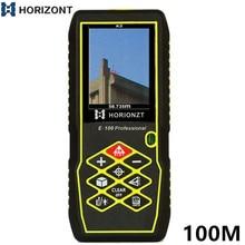 Laser Distance Meter 80M100M Handheld Range Finder Tape Measuring Device Rangefinder LCD Camera Diastimeter Measure Rechargeable