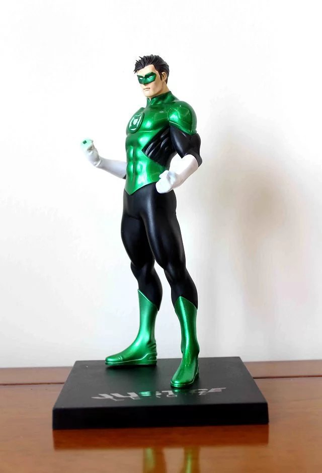 1/8 Scale Painted Figure 52th Ver. Justice League Green Lantern Doll PVC Action Figure Collectible Model Toy 18cm KT3333 shf figuarts superman in justice ver pvc action figure collectible model toy