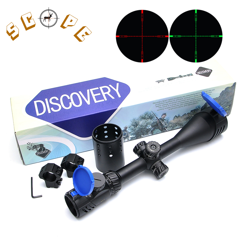 Discovery VT 2 4 16X50 SFIR Long Range Rifles Scope Airsoft Red And Green Illuminated Fiber Optic Sight Riflescope Hunting