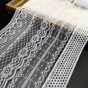 10 Yards White Handmade african lace fabric Net Lace Trim Embroider Ribbon Bow Crafts For Sewing Decoration Handicrafts