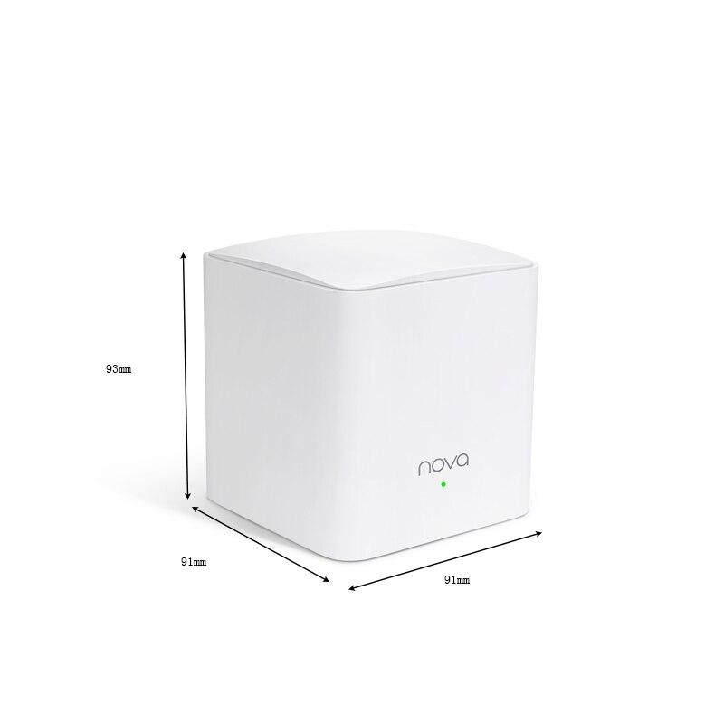 Tenda Nova MW5 Chez Maille WiFi Gigabit Système avec AC1200 2.4G/5.0GHz WiFi Routeur Sans Fil et Répéteur, APPLICATION Gestion À Distance - 2