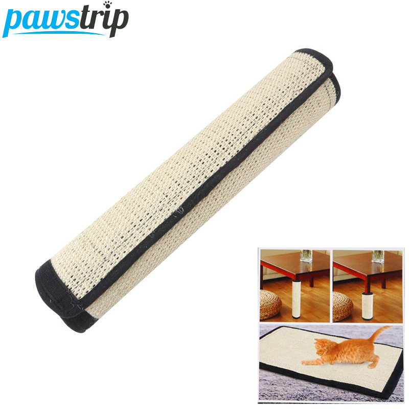 Pawstrip 40*30cm Cat Scratch Board Pad Flexible Sisal Cat Toys Protecting Furniture Grind Claws Cat Scratcher Toy Mat