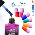 Magic Thermal Chameleon Topcoat CANNI Nail Art Salon 60913 DIY Temperature Color Changeable UV Gel Polish Transparent Top Coat