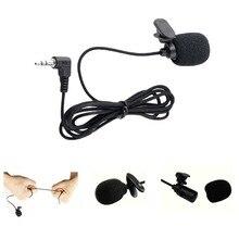 Портативный петличный микрофон с зажимом и отворотом 3,5 мм мини-проводной конденсаторный микрофон для обучения речевой направляющей и т. Д