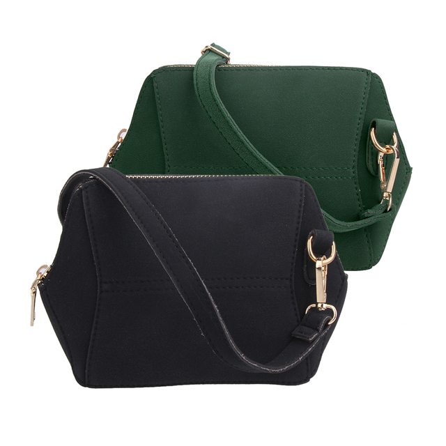 Fashion Nubuck Leather Women Bags Small Shell Bag Women Shoulder Bag  Ladies Crossbody Bag Designer Bolsas Casual Free Shipping