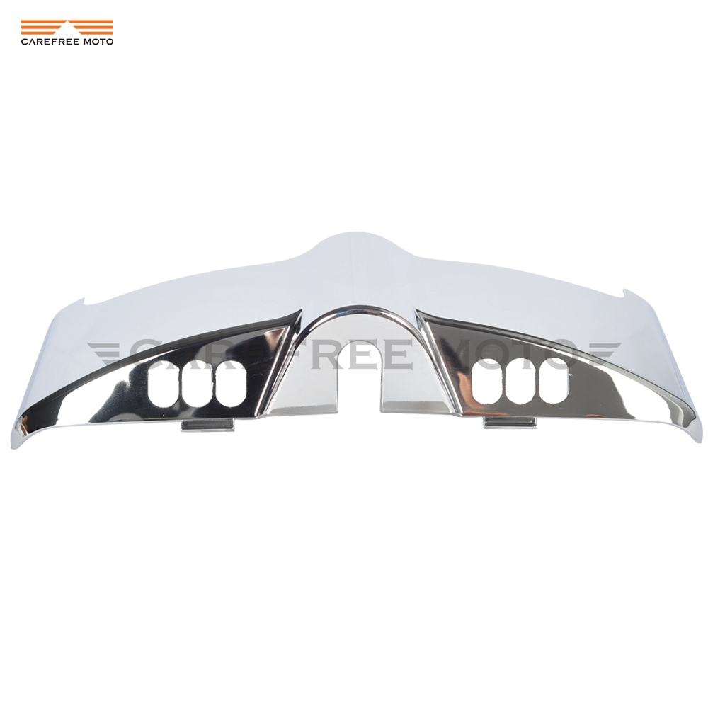 Chrome Motorcycle Inner Fairing Cap Cover Case for Harley Davidson Touring Electra Street Glide 2014 2015