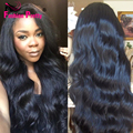 Virgin Human Hair Full Lace Wig Glueless Brazilian Body Wave Full Lace Human Hair Wigs For Black Women Lace Front Wig 130density
