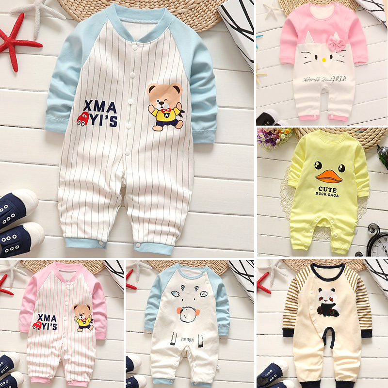 0 To 12 Months Baby Clothes Baby   Romper   Baby Girl Newborn Clothing Spring And Autumn Baby Winter Clothes