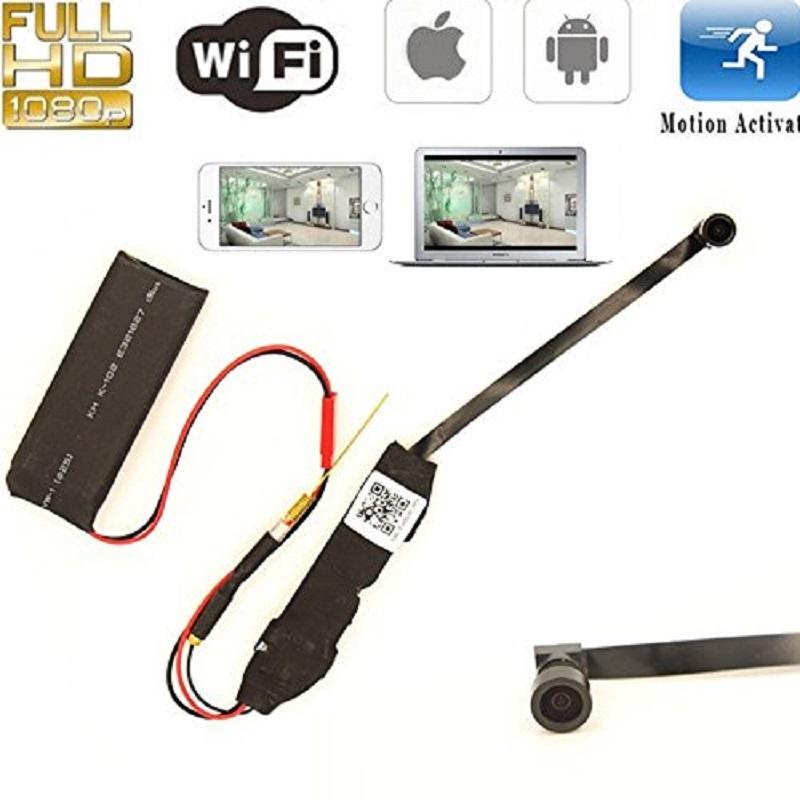 Car DVR Smallest WIFI DIY Module 1080P HD P2P Wifi IP Camera Video Recorder Motion Activ ...