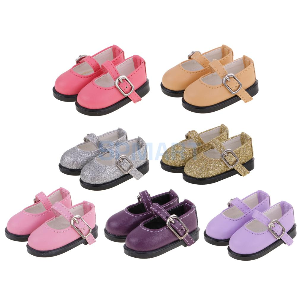 6 Colors PU Leather Strap Shoes for 1/6 BJD Dollfie MSD AOD SD SOOM LUTS Dolls Costume Dress up Accessories js 081 bjd shoes pu shoes sd msd doll shoe factory sales directly