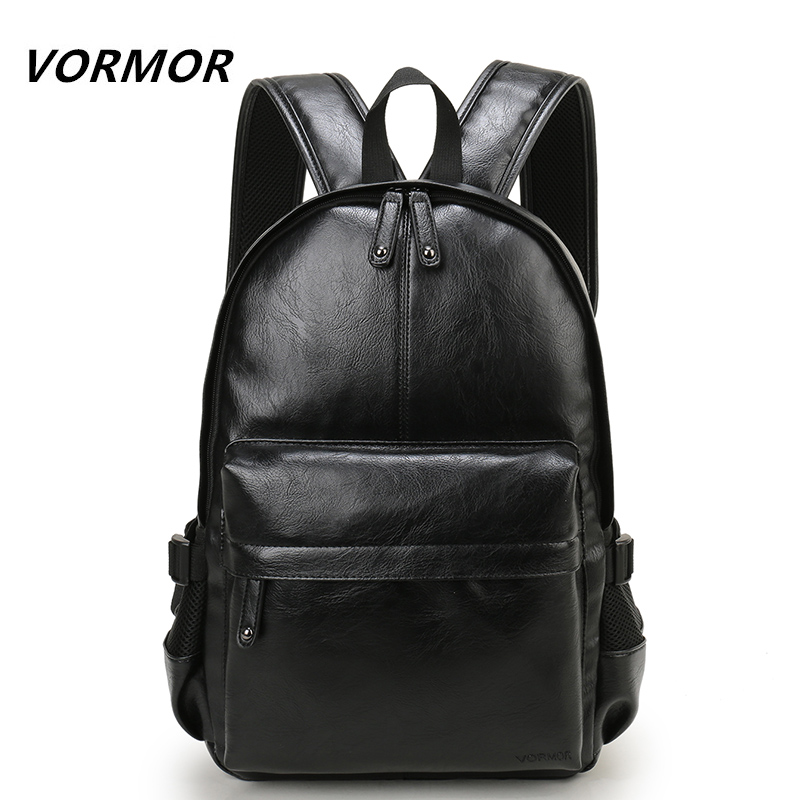 2018 New VORMOR Men's Backpacks Bolsa Mochila for Laptop 14 Inch Notebook Computer Bags Men Backpack School Rucksack