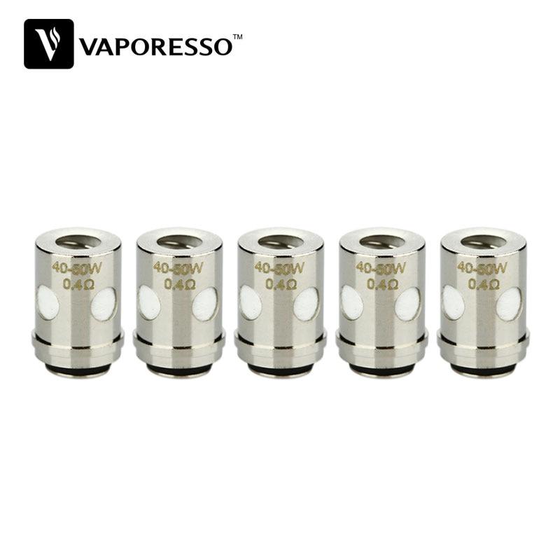 5pcs Original Vaporesso Traditional EUC Clapton 0.4ohm for Estoc/Target Pro/ORC/Gemini Tank Atomizer Electronic Cigarette Coil