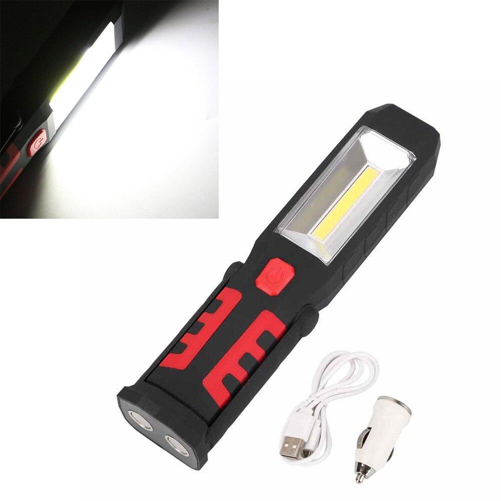 Lampe Voiture Garage Cob Clh8 De Travail Led Torche Rechargeable Mécanicien Magnétique Maison bgvYIf67y