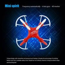 Profissional rc drones mini RC quadcopter 3D girar anti-break segurança círculo 2.4G 4CH mini rc helicóptero vs FQ777-124 M9912 X6