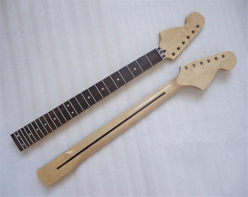 24 frets maple rosewood fingerboard reverse headstock electric guitar neck guitar parts musical. Black Bedroom Furniture Sets. Home Design Ideas