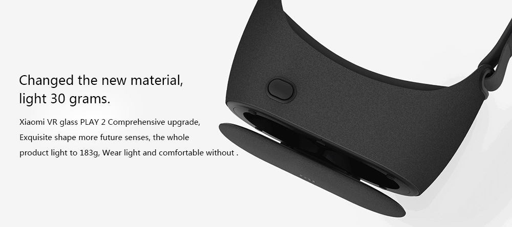 Newest Original Xiaomi Mi VR Play 2 Virtual Reality Glasses 3D Glasses Immersive for 4.7-5.7 inch for Smart Phones VR 2.0 BOX 4