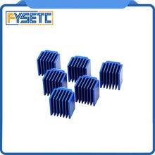 10 adet/grup 3D Yazıcı Parçaları Step Motor Sürücü ısı yutucular Soğutma Bloğu Isı Emici Için TMC2100 TMC2208 TMC2130 LV8729 DRV...