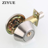 Free Shipping Locking On T Single Side Open Auxiliary Lock Indoor Door Glass