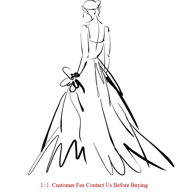 DHL robe de bal sur mesure robe de mariée