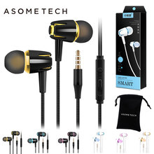 In Ear Sport Earphone PTM 3.5MM Wired Headset Stereo Earbuds With Microphone Earphones For iphone Sony Smartphones Moblie Phone cbaooo wired earphone waterproof headset stereo ear hook headphone earphones with microphone computer earbuds for phone sport