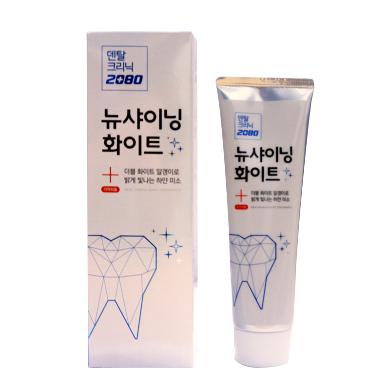 Korea Whitening Vitamin C Antibacterial Toothpaste Eliminate
